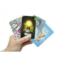 Wizytówki plastikowe PCV 0,5mm