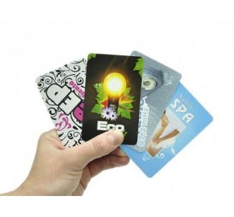 Wizytówki plastikowe PCV 0,7mm