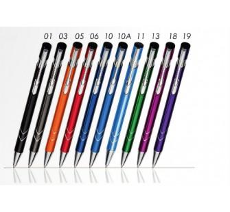 Długopisy metalowe AAS z grawerowanym logo