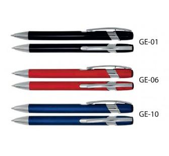 Długopisy metalowe AAGe z grawerowanym logo