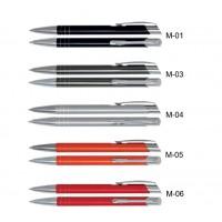Długopisy metalowe AAM z grawerowanym logo