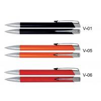 Długopisy metalowe AAV z grawerowanym logo