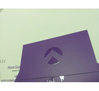 Wizytówki 3D offsetowe wypukłe, lakier puchnący